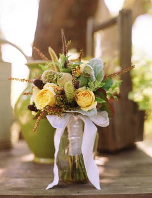Flowers & Decor, Real Weddings, Wedding Style, yellow, green, Bride Bouquets, Rustic Real Weddings, Summer Weddings, West Coast Real Weddings, Summer Real Weddings, Rustic Weddings, Summer Wedding Flowers & Decor