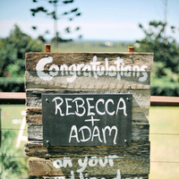Flowers & Decor, Stationery, Destinations, Real Weddings, Wedding Style, brown, Destination Weddings, Australia, Summer Weddings, Garden Real Weddings, Summer Real Weddings, Garden Weddings, Rustic Wedding Flowers & Decor, Wedding signs