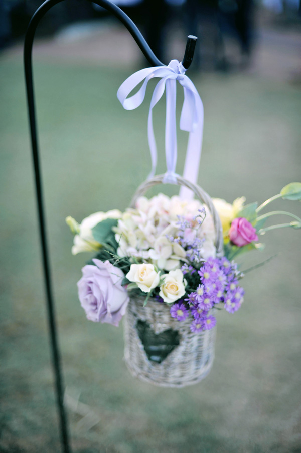 Flowers & Decor, Destinations, Real Weddings, Wedding Style, purple, Destination Weddings, Australia, Ceremony Flowers, Aisle Decor, Summer Weddings, Garden Real Weddings, Summer Real Weddings, Garden Weddings, Garden Wedding Flowers & Decor