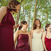 Bridesmaids Dresses, Fashion, Real Weddings, Wedding Style, red, purple, Fall Weddings, Modern Real Weddings, West Coast Real Weddings, Fall Real Weddings, Modern Weddings