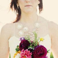 Flowers & Decor, Real Weddings, Wedding Style, pink, Bride Bouquets, Fall Weddings, Modern Real Weddings, West Coast Real Weddings, Fall Real Weddings, Modern Weddings