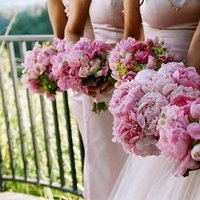 Real Weddings, pink, Bridesmaid Bouquets, Spring Weddings, West Coast Real Weddings, Garden Real Weddings, Spring Real Weddings, Garden Weddings