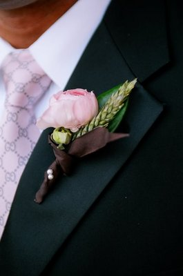 Real Weddings, pink, Boutonnieres, Spring Weddings, West Coast Real Weddings, Garden Real Weddings, Spring Real Weddings, Garden Weddings