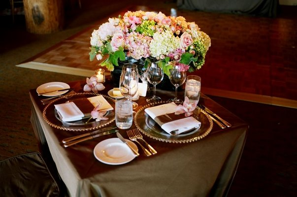 Real Weddings, gold, Centerpieces, Spring Weddings, West Coast Real Weddings, Garden Real Weddings, Spring Real Weddings, Garden Weddings, Garden Wedding Flowers & Decor