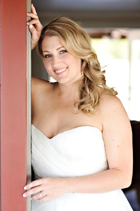 Beauty, Real Weddings, Makeup, Down, Fall, Rustic, Hair, Curly, Autumn, Farm wedding