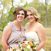 Real Weddings, Fall, Rustic, Bridesmaid, Autumn, Neutral, Earthy, Taupe, Farm wedding