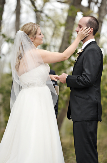 Ceremony, Real Weddings, Fall, Rustic, Outdoor, Autumn, Emotional, Farm wedding