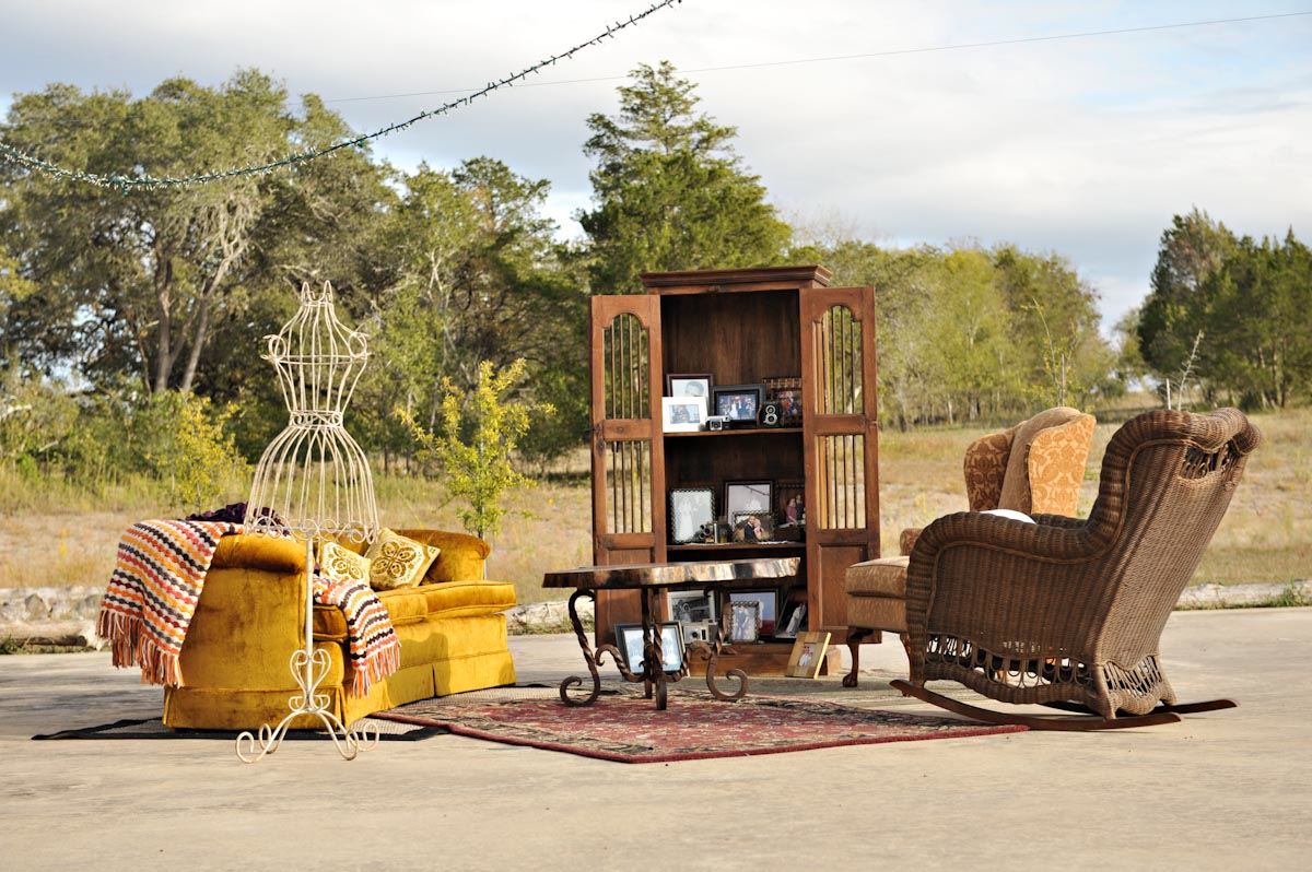 Reception, Real Weddings, Fall, Vintage, Rustic, Lounge, Autumn, Farm wedding