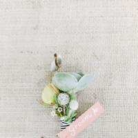 Flowers & Decor, Real Weddings, Wedding Style, Boutonnieres, Southern Real Weddings, Summer Weddings, Garden Real Weddings, Summer Real Weddings, Garden Weddings, Southern weddings, Pastel