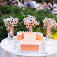 Cakes, Real Weddings, Wedding Style, orange, Southern Real Weddings, Summer Weddings, Garden Real Weddings, Summer Real Weddings, Garden Weddings, Pastel