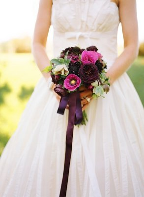 Flowers & Decor, Real Weddings, Wedding Style, purple, Bride Bouquets, Fall Weddings, West Coast Real Weddings, Fall Real Weddings, Vineyard Real Weddings, Vineyard Weddings