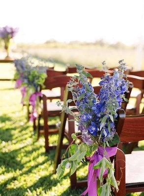 Flowers & Decor, Real Weddings, Wedding Style, Ceremony Flowers, Aisle Decor, Fall Weddings, West Coast Real Weddings, Fall Real Weddings, Vineyard Real Weddings, Vineyard Weddings, Vineyard Wedding Flowers & Decor