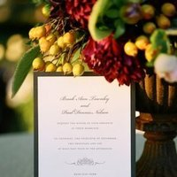 Stationery, Real Weddings, Wedding Style, Invitations, Fall Weddings, West Coast Real Weddings, Fall Real Weddings, Vineyard Real Weddings, Vineyard Weddings