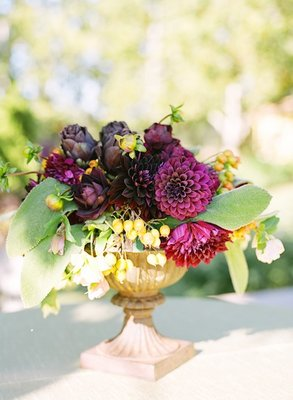 Flowers & Decor, Real Weddings, Wedding Style, Centerpieces, Fall Weddings, West Coast Real Weddings, Fall Real Weddings, Vineyard Real Weddings, Vineyard Weddings, Fall Wedding Flowers & Decor, Vineyard Wedding Flowers & Decor