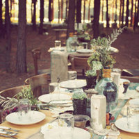 Flowers & Decor, Real Weddings, Wedding Style, ivory, green, gold, Centerpieces, Tables & Seating, Fall Weddings, Rustic Real Weddings, Southern Real Weddings, Fall Real Weddings, Shabby Chic Real Weddings, Rustic Weddings, Shabby Chic Weddings, Fall Wedding Flowers & Decor, Rustic Wedding Flowers & Decor, Table settings