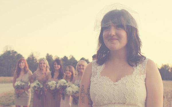 Veils, Fashion, Real Weddings, Wedding Style, white, ivory, Fall Weddings, Rustic Real Weddings, Southern Real Weddings, Fall Real Weddings, Shabby Chic Real Weddings, Rustic Weddings, Shabby Chic Weddings