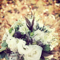 Flowers & Decor, Real Weddings, Wedding Style, white, ivory, Bride Bouquets, Fall Weddings, Rustic Real Weddings, Southern Real Weddings, Fall Real Weddings, Shabby Chic Real Weddings, Rustic Weddings, Shabby Chic Weddings, Fall Wedding Flowers & Decor, Rustic Wedding Flowers & Decor, Vintage Wedding Flowers & Decor