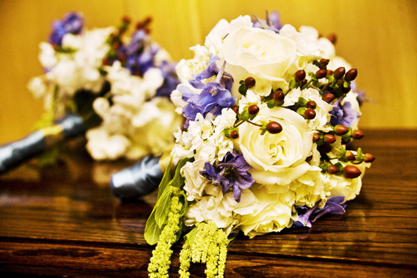 Real Weddings, ivory, purple, Bridesmaid Bouquets, West Coast Real Weddings, Rustic Weddings