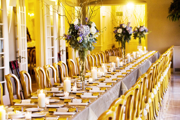 Real Weddings, Tables & Seating, West Coast Real Weddings