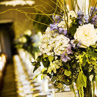Real Weddings, ivory, purple, green, Centerpieces, West Coast Real Weddings, Rustic Weddings