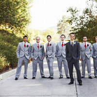 Fashion, Real Weddings, Wedding Style, gray, silver, Men's Formal Wear, West Coast Real Weddings, Classic Real Weddings, Glam Real Weddings, Classic Weddings, Glam Weddings, Grey