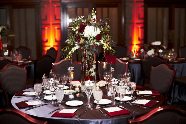 Flowers & Decor, Real Weddings, Wedding Style, red, Tables & Seating, West Coast Real Weddings, Classic Real Weddings, Glam Real Weddings, Classic Weddings, Glam Weddings, Classic Wedding Flowers & Decor, Glam Wedding Flowers & Decor