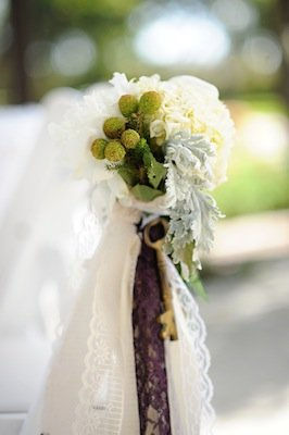 Flowers & Decor, Real Weddings, Wedding Style, white, green, Aisle Decor, Modern Real Weddings, West Coast Real Weddings, Modern Weddings, Modern Wedding Flowers & Decor