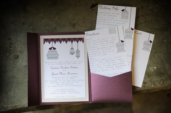 Stationery, Real Weddings, Wedding Style, purple, Modern Wedding Invitations, Invitations, Modern Real Weddings, West Coast Real Weddings, Modern Weddings