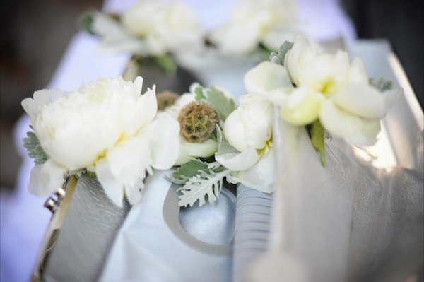 Flowers & Decor, Real Weddings, Wedding Style, white, Bridesmaid Bouquets, Modern Real Weddings, West Coast Real Weddings, Modern Weddings, Modern Wedding Flowers & Decor