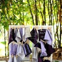 Stationery, Real Weddings, Wedding Style, purple, Guestbooks, Modern Real Weddings, West Coast Real Weddings, Modern Weddings
