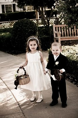 Flower Girls, Real Weddings, Wedding Style, West Coast Real Weddings, Vineyard Real Weddings, Vineyard Weddings, Ring bearers, Kids