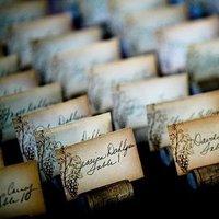 Stationery, Real Weddings, Wedding Style, brown, Escort Cards, West Coast Real Weddings, Vineyard Real Weddings, Vineyard Weddings, Tan