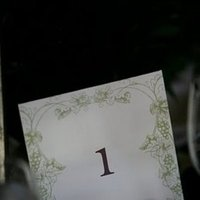 Flowers & Decor, Stationery, Real Weddings, Wedding Style, Table Numbers, West Coast Real Weddings, Vineyard Real Weddings, Vineyard Weddings, Vineyard Wedding Flowers & Decor