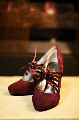 Shoes, Fashion, Real Weddings, Wedding Style, red, West Coast Real Weddings, Garden Real Weddings, Garden Weddings, wedding shoes