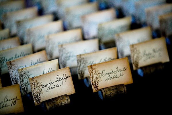 Stationery, Real Weddings, Wedding Style, brown, Escort Cards, West Coast Real Weddings, Vineyard Real Weddings, Vineyard Weddings, Tan