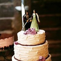 Cakes, Real Weddings, Wedding Style, purple, Garden Wedding Cakes, Wedding Cakes, West Coast Real Weddings, Garden Real Weddings, Garden Weddings