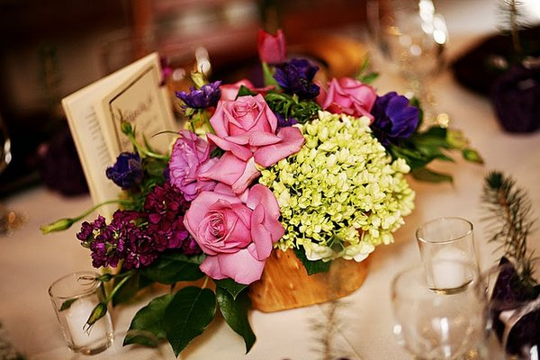 Flowers & Decor, Real Weddings, Wedding Style, Centerpieces, West Coast Real Weddings, Garden Real Weddings, Garden Weddings, Garden Wedding Flowers & Decor