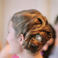 Beauty, Real Weddings, Updo, Wedding Hair, Southern Real Weddings, Classic Real Weddings, Classic Weddings, Hairpins