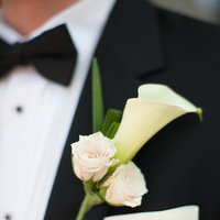 Real Weddings, ivory, black, Boutonnieres, Southern Real Weddings, Classic Real Weddings, Classic Weddings