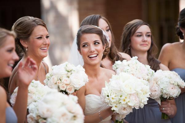 Flowers & Decor, Real Weddings, Bridesmaid Bouquets, Southern Real Weddings, Classic Real Weddings, Classic Weddings