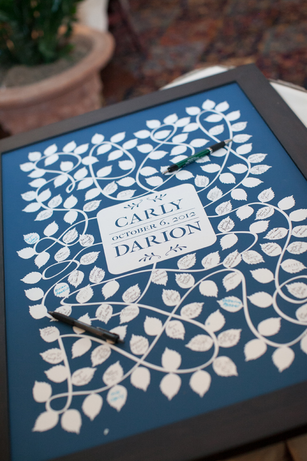 Real Weddings, blue, Guestbooks, Southern Real Weddings, Classic Real Weddings, Classic Weddings