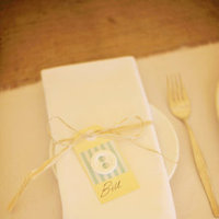 Flowers & Decor, Stationery, Destinations, Real Weddings, Wedding Style, yellow, Australia, Place Cards, Place Settings, Spring Weddings, Spring Real Weddings, Vintage Real Weddings, Vintage Weddings, Table settings