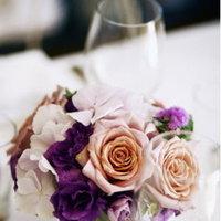 Flowers & Decor, Real Weddings, Wedding Style, purple, Centerpieces, Modern Real Weddings, City Real Weddings, City Weddings, Modern Weddings, Modern Wedding Flowers & Decor