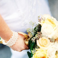 Flowers & Decor, Jewelry, Real Weddings, Wedding Style, yellow, Bracelets, Bride Bouquets, West Coast Real Weddings, Winter Weddings, Classic Real Weddings, Winter Real Weddings, Classic Weddings