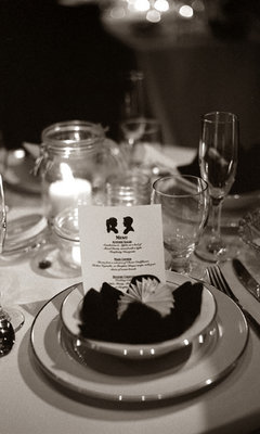 Real Weddings, Place Settings, West Coast Real Weddings, Winter Weddings, Classic Real Weddings, Winter Real Weddings, Classic Weddings, Table settings