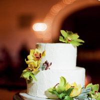 Cakes, Real Weddings, Wedding Style, white, green, Floral Wedding Cakes, Wedding Cakes, Modern Real Weddings, Summer Weddings, West Coast Real Weddings, Summer Real Weddings, Modern Weddings