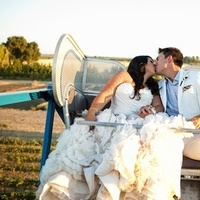 Real Weddings, Vineyard, Summer Weddings, West Coast Real Weddings, Summer Real Weddings, Bright, Organic, Farm, Whimsical, Vibrant, Orchard, West Coast Weddings, ferris wheel
