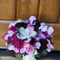 Flowers & Decor, Real Weddings, Wedding Style, purple, Bride Bouquets, West Coast Real Weddings
