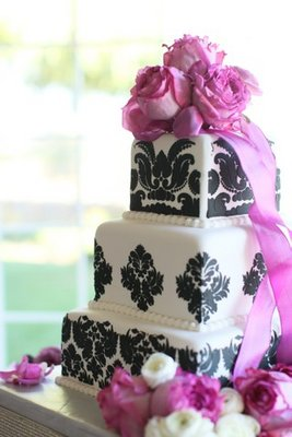Cakes, Real Weddings, Wedding Style, purple, Glam Wedding Cakes, Wedding Cakes, West Coast Real Weddings, Glam Real Weddings, Glam Weddings, square wedding cales