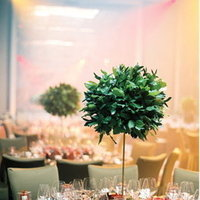 Flowers & Decor, Real Weddings, Wedding Style, red, green, Centerpieces, Glam Real Weddings, Glam Weddings